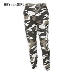 Womens Camouflage Pants