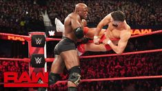 Bobby Lashley & Lio Rush: Raw March 18 2019 Less Places In Chicago, Wwe Belts, Kurt Angle, Wwe Toys, Wwe Action Figures, Braun Strowman, Finn Balor, Brock Lesnar, Royal Rumble