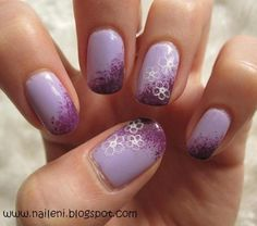 Lilac nails Source by Nails 2018, Beauty Review, Love Nails, Gel Nail Polish, Spring Nails, Beauty Hacks, Beauty Tips, Hair And Nails, Make Up
