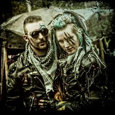Post Apocalypse  - Tribe Riot - https://www.facebook.com/livingdreadd0ll picture by Jurgen de Boer -  Wasteland Warriors Mad Max Wastelanders Apocalyptic  couple