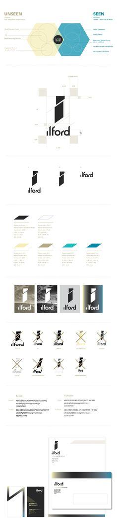 Ilford Brand Guideline via Behance