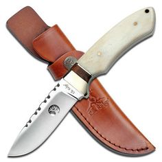 Decals 165978: Elk Ridge Fixed Blade, 8.5In, Stainless Steel Blade, Full Tang White : Er-304Bn -> BUY IT NOW ONLY: $35.99 on eBay!