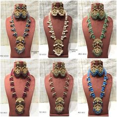 #sets #necklace #earrings #kundan #meenakari #highquality #richlook  #Beautiful #lovely #elegant #festive #wedding #trendy #designer #exclusive #statement #latest #design #ethnic #traditional #modern #indian #divaazfashionjewellery available Grab them fast 😍😍 Inbox for orders & more details plz Or mail at npsales421@gmail.com Beaded Jewelry, Beaded Necklace, Necklaces, Jewellery, Festive, Ethnic, Indian, Traditional, Beads