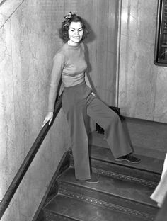 In 1938, Helen Hulick of L.A. defied a judge's order and wore slacks in court, earning her a five-day jail sentence