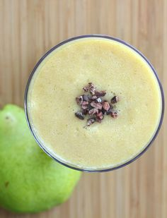 Pear Lemonade Superfood Smoothie