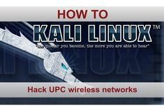 How to hack UPC wireless networks and other WLAN pt 1