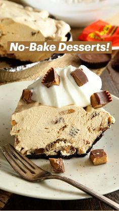 No Cook Desserts, Cookie Desserts, Just Desserts, Delicious Desserts, Layered Desserts, Cake Recipes, Snack Recipes, Dessert Recipes, Snacks