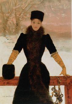 The Athenaeum - Allegory of Winter (Jan van Beers - )