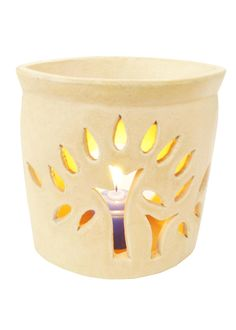These Beautifully handcrafted cream flower simple and stylish ceramic oil burner work with any decor . for use with our home fragrance oil . to elegantly scent and accessories your home.