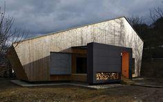 Casa de madera tradicional de Eslovaquia