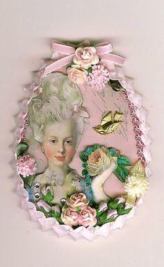 Marie Antoinette Easter Egg III - ATC