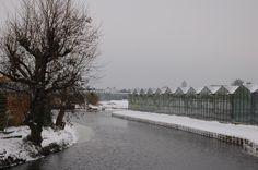 Kassen, water en sneeuw....