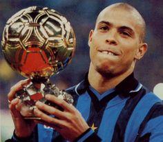 Ronaldo Luis Nazário de Lima,(Brésil),Ballon d'or 1997.(attaquant - Inter Milan)