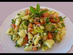 Kartoffelsalat ohne Mayonnaise-Türkische Rezepte-Patates piyazi - YouTube