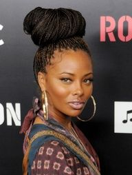 box braids, natur hair, boxes, eva, protective styles, braided hairstyles, beauti, knot, braid styles