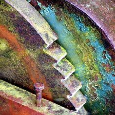..metal rust abstract...