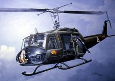 Vietnam Huey Helicopter Prints | The Huey was the workhorse of the Air Calvary in Vietnam. It flew ...