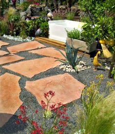 Patio Design Ideas: Mixed Materials