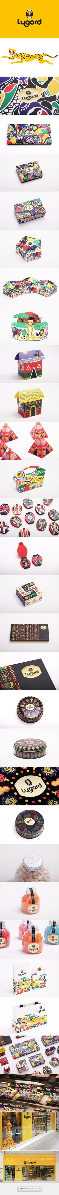 Lugard Brand Identity & Packaging Design on Behance