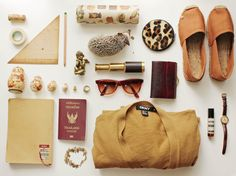 All packed up and ready to explore... #JetsetterCurator