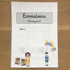 M A T H E Mein Einmaleins-Übungsheft als Ergänzung zum Lehrwerk...endlich ist's fertig #grundschule #mathe #einmaleins #katehadfielddesigns