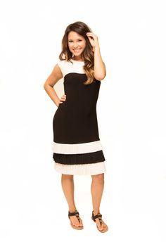iboteak - Frank Lyman Blk\Wht Dress, $169.00 (http://www.iboteak.com/frank-lyman-blk-wht-dress/)