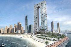 Emaar unveils its first beachfront hotel project in Dubai Marina | Zawya