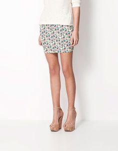 869f1e59e3 Bershka Turkey - Bershka floral skirt Latest Tops, Swimwear Fashion, Sequin  Skirt, Turkey