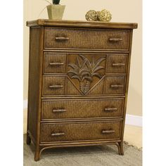 Found it at Wayfair - Cancun Palm 5 Drawer Chest