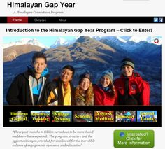 We have a NEW Gap Year website!!
