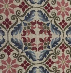 Cross Stitching, Cross Stitch Embroidery, Palestinian Embroidery, Tapestry Crochet, Crossstitch, Art Nouveau, Bohemian Rug, Mandala, Rugs