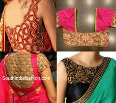 Cutwork Saree Blouses