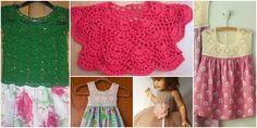 Sizlere çok güzel yaza uygun örgü ve kumaşın birleşiminden oluşan kız çocuk örgü elbise modellerinden bahsedeceğim. Ve yapılışının yanında aynı modelden yapılmış birçok elbise modelini göreceksiniz. Bebek örgü elbise modellerini zincir sayısını, motif sayısını artırarak ebatlarını ayarlayarak daha büyük veya daha
