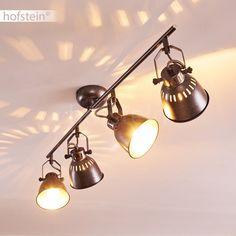 Retro Ceiling Spotlights Hallway Kitchens Spot Wohn Schlaf Zimmer Luminaire silvergrey Source by Ceiling Spotlights, Ceiling Lights, Hall Lighting, Retro, New Homes, Sleep Room, Kitchens, Home Decor, Home