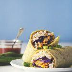 Easy Vegan Freezer Burritos | picklesnhoney.com