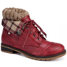 GET $50 NOW   Join RoseGal: Get YOUR $50 NOW!http://www.rosegal.com/boots/retro-engraving-and-lace-up-246514.html?seid=948764rg246514