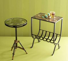 Pier 1 Accent Tables Add Instant Oomph To Any Room/ I Have These Reel Tables