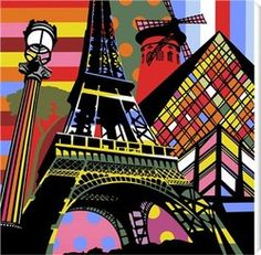 paris pop art
