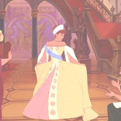 Anastasia- Loved this movie when I was younger!  I wanted this dress so so bad when I was little....and it hasn't quite gone away haha