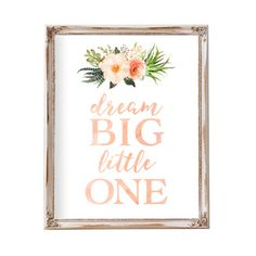 Hey, I found this really awesome Etsy listing at https://www.etsy.com/listing/271110232/dream-big-little-one-nursery-prints