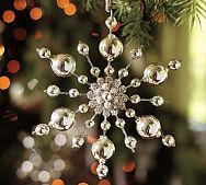 Gorgeous snowflake. I would keep this ornament out until January/February! You can always hang it on a doorknob or something. :-)