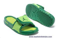 newest collection 454df 4da35 Authentic Green Volt Nike Jordan Hydro 2 Slide Sandal Sport Nike, Kobe 9  Shoes,