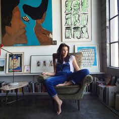 """Emily Ratajkowski from """"Really Good Jeans! Supermodel Selfies in Spring's Best Denim"""""""