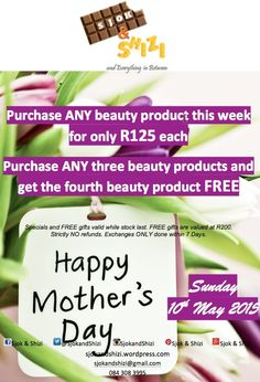 Mother's Day - 10 May 2015
