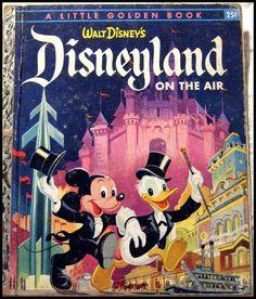 Little Golden Book: Disneyland on the Air