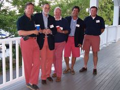 Grey Fox: Can a middle aged man wear pink chinos?