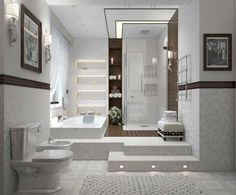 White-interior-bathroom-decoration-ideas-with-bathroom