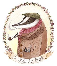 old mr brock by Amy Adele, via Flickr