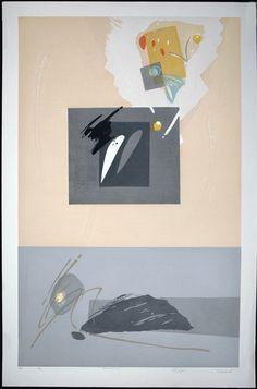 "Takahashi Rikio Niwa (Garden) H-1 ed. 50 1989 36"" x 24"" 1250 RenBrown 031015"
