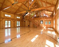 A Look At Some Private Indoor Basketball Courts From Houzz.com ...